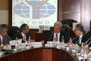 MGIMO Hosts Forum of Russian and Indian Research Centers