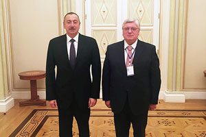 The President of Azerbaijan Meets with MGIMO Rector