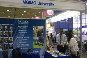 MGIMO University Participates in Korea Study Abroad Fair