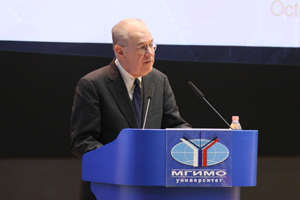 John Mearsheimer's Series of Lectures at MGIMO