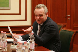 General Director of International University of Monaco Comes to MGIMO