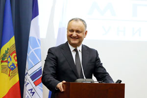 Moldovan President Speaks at MGIMO