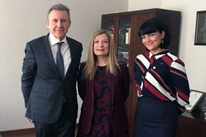 MGIMO Welcomes Greek Consul General in Moscow Eleni Vakali