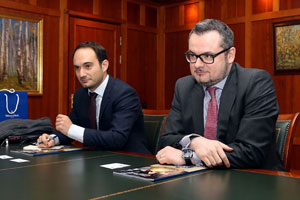 MGIMO Rector Meets with Ambassador of Luxembourg
