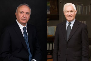 Robert Engibaryan and Valery Salygin Receive Awards of Merit