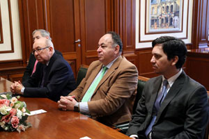 MGIMO Receives Diplomatic Delegation from Ecuador