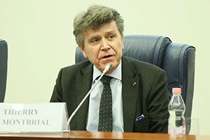 Thierry de Montbrial Delivers Lecture at MGIMO