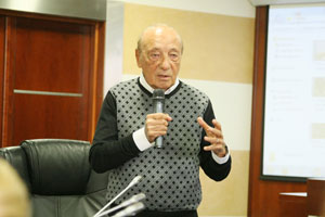 MGIMO Welcomes Legend of Political Advertising Jacques Seguela