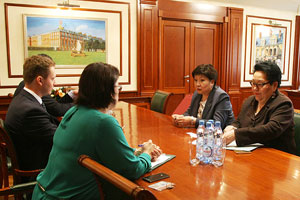MGIMO and Diplomatic Academy of the Kyrgyz Ministry of Foreign Affairs Deepen their Cooperation