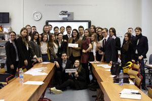 Model UN Takes Place at Odintsovo