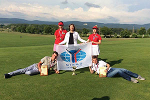 MGIMO Golf Team Wins All-Russia Student Championship