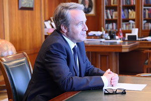 MGIMO Receives Greek Ambassador
