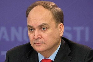 Anatoly Antonov Appointed Russian Ambassador to the United States