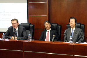 Leader of Japanese Party Komeito Comes to MGIMO