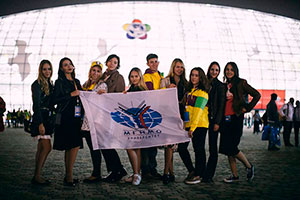 Opening of World Festival of Youth and Students in Sochi