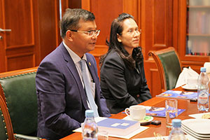 Cambodian Minister of Education Comes to MGIMO