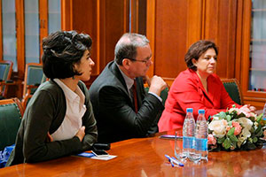 MGIMO Holds Meeting with Delegation from Middlebury College