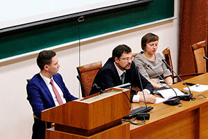 Director of Moscow UN Information Centre Speaks at MGIMO