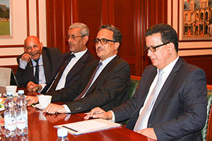 Foreign Minister of Mauritania Comes to MGIMO