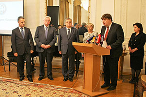MGIMO Rector at Opening of Andrei Karlov Foundation