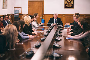 MGIMO Rector Reviews Results of XIX World Festival of Youth and Students
