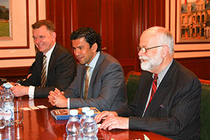 Delegation From Australian National University Comes to MGIMO