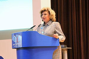 Russian High Commissioner for Human Rights Delivers Open Lecture at MGIMO