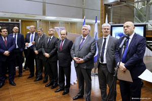 Moscow Diplomats Attend Opening of Israeli Exhibition «Diplomats — Righteous Among the Nations» at MGIMO