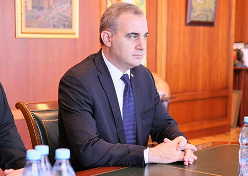 MGIMO Rector Receives Ambassador of Turkmenistan