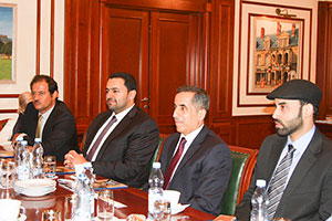 Delegation from Qatar Visits MGIMO