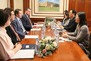 MGIMO Cooperates with Korean National Diplomatic Academy
