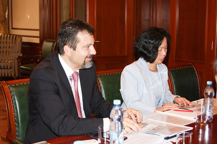 MGIMO Greets Delegation from University of Nicosia
