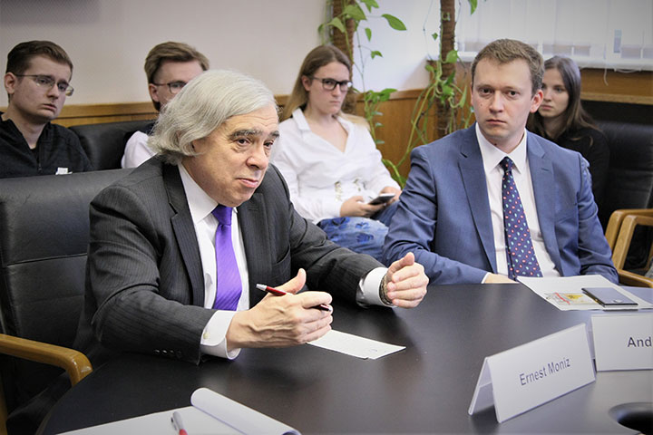 MGIMO Welcomes Delegation from Nuclear Threat Initiative