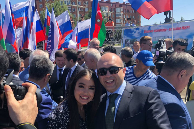 Leyla Aliyeva Meets with MGIMO Alumni in Astrakhan