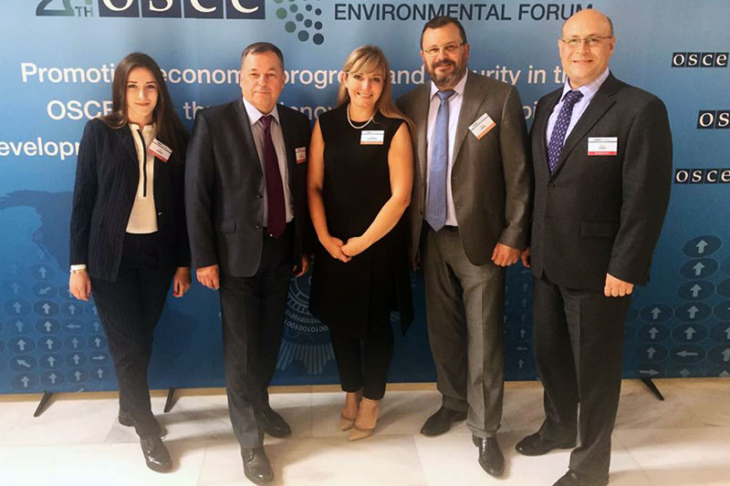 MGIMO at Concluding Meeting of 26th OSCE Economic and Environmental Forum