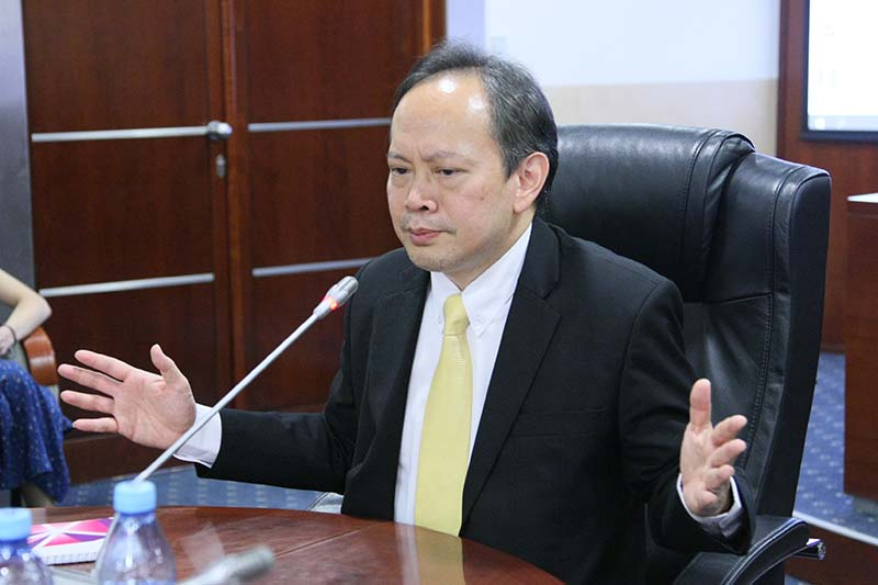 Director of ASEAN Department at Thai Foreign Ministry Lectures at MGIMO