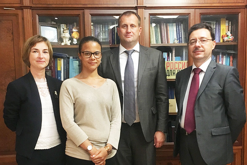 MGIMO Expands Cooperation with Belgian Universities