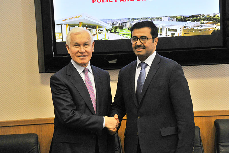 Minister of Energy and Industry of Qatar Comes to MGIMO