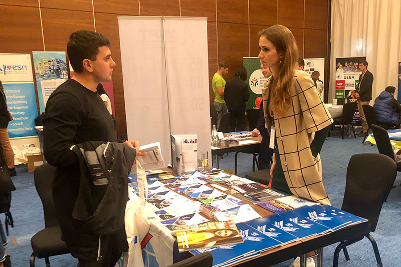 MGIMO at «International Education» Exhibition in Tbilisi and Baku