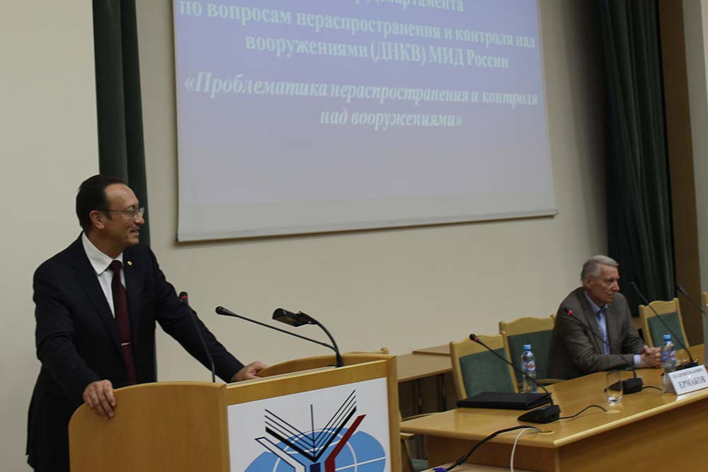 Vladimir Yermakov on Non-Proliferation and Arms Control at MGIMO