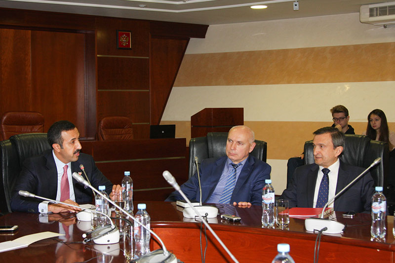 MGIMO Welcomes Deputy Foreign Minister of Bahrain