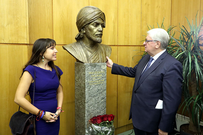 Inauguration of Imadeddin Nasimi Bust at MGIMO