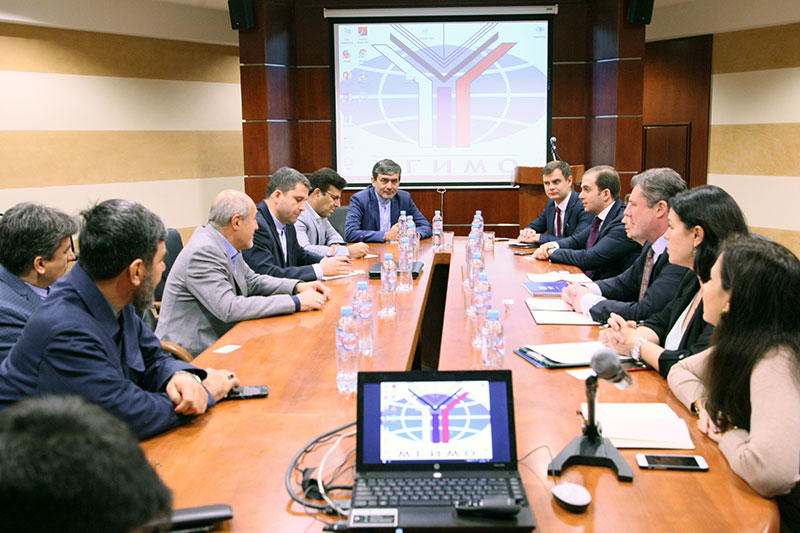 MGIMO Welcomes Delegation from Tehran University