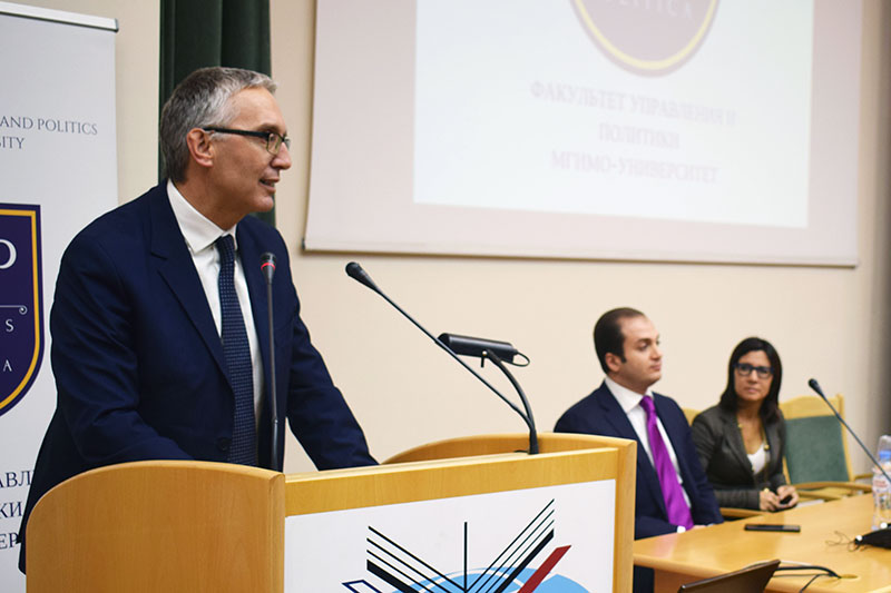 MGIMO Welcomes President of Italian Marche Region