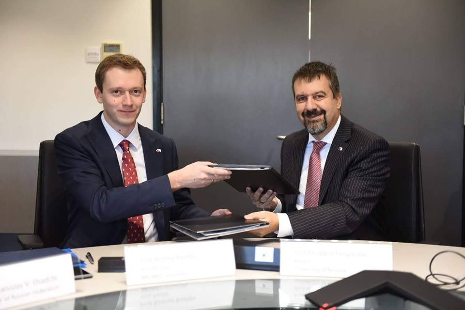 MGIMO and University of Nicosia to Create Joint MA Program