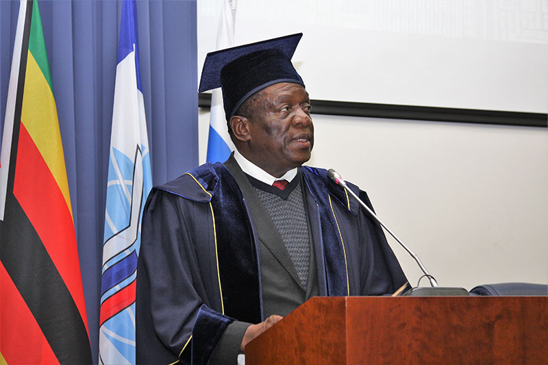 MGIMO Rector Welcomes President of Zimbabwe