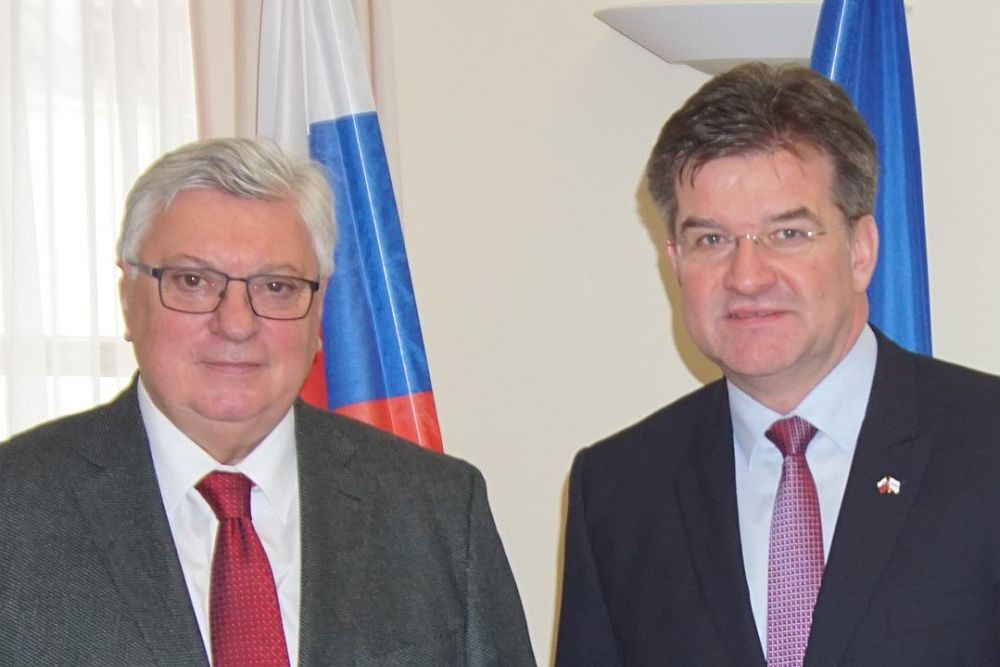 MGIMO Rector Develops Cooperation with Slovakia