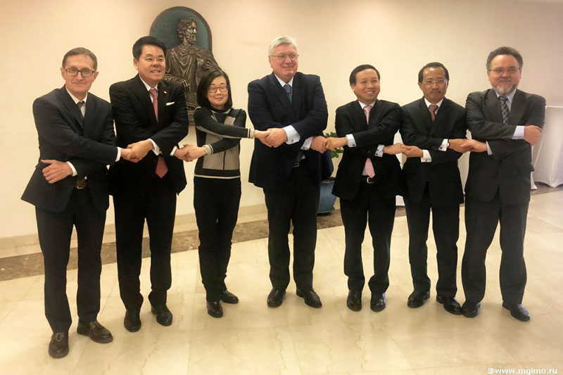 MGIMO Hosts Meeting of ASEAN Centre Executive Council