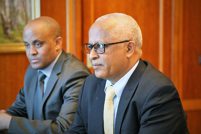 MGIMO Rector Receives Ethiopian Ambassador