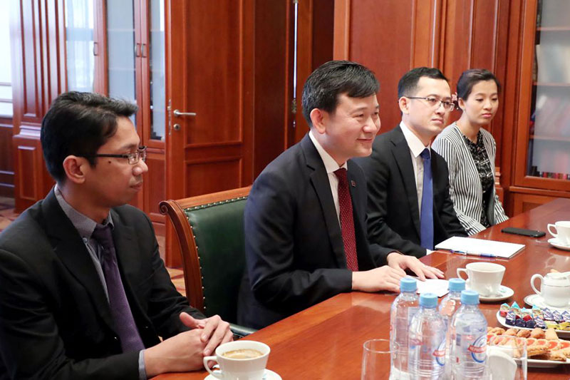 MGIMO Welcomes Delegation from Cambodian National Institute of Diplomacy and International Relations